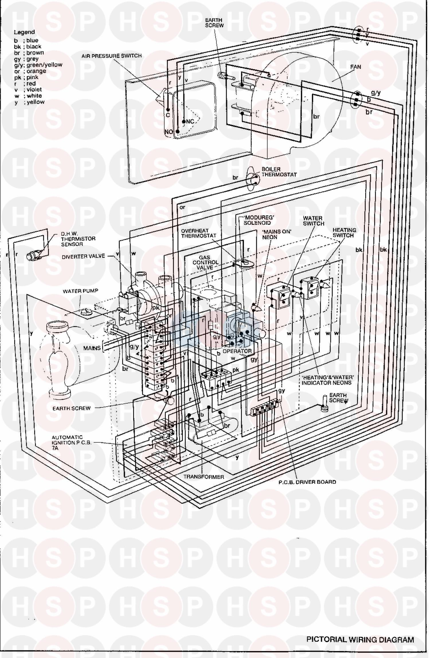 ideal sprint 80f  wiring diagram 2  diagram