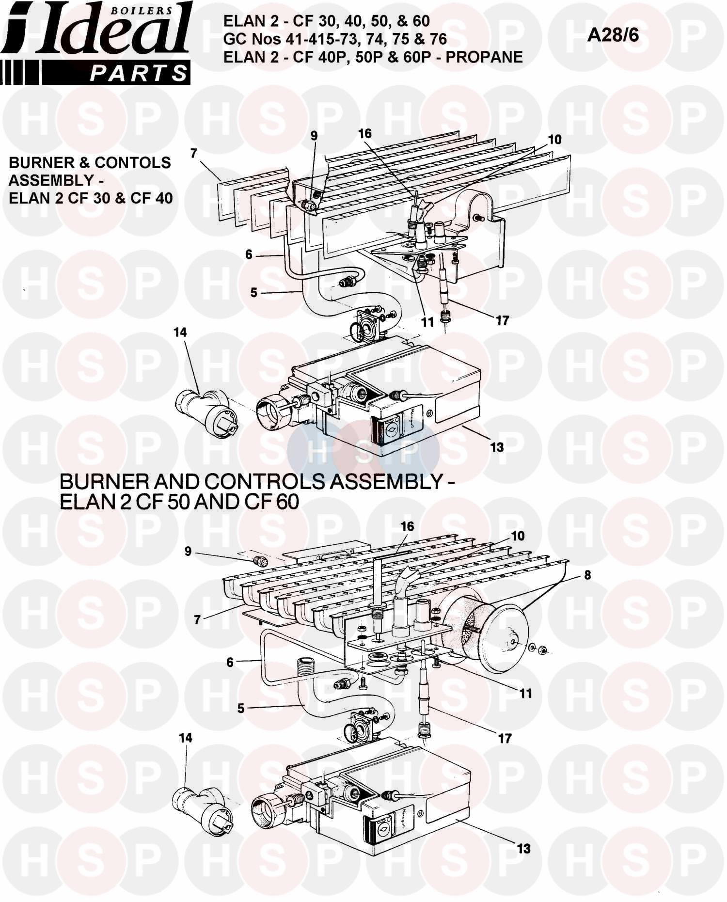 ideal elan 2 cf 50 burner control ass 1 diagram. Black Bedroom Furniture Sets. Home Design Ideas