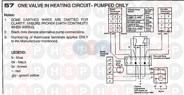 Ideal Elan 2 50f  Wiring Diagram 6 Diagram