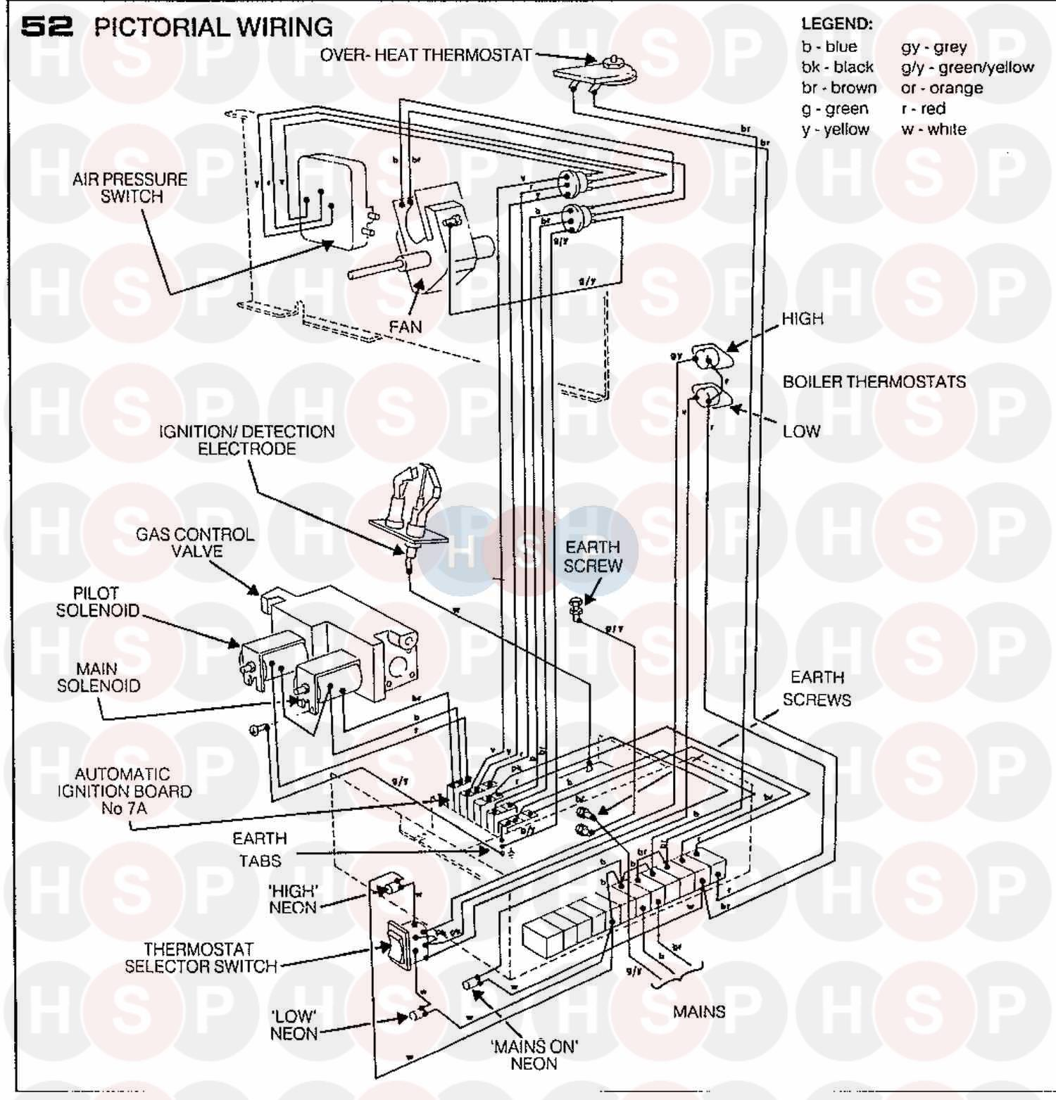 6 pin telex wiring diagram