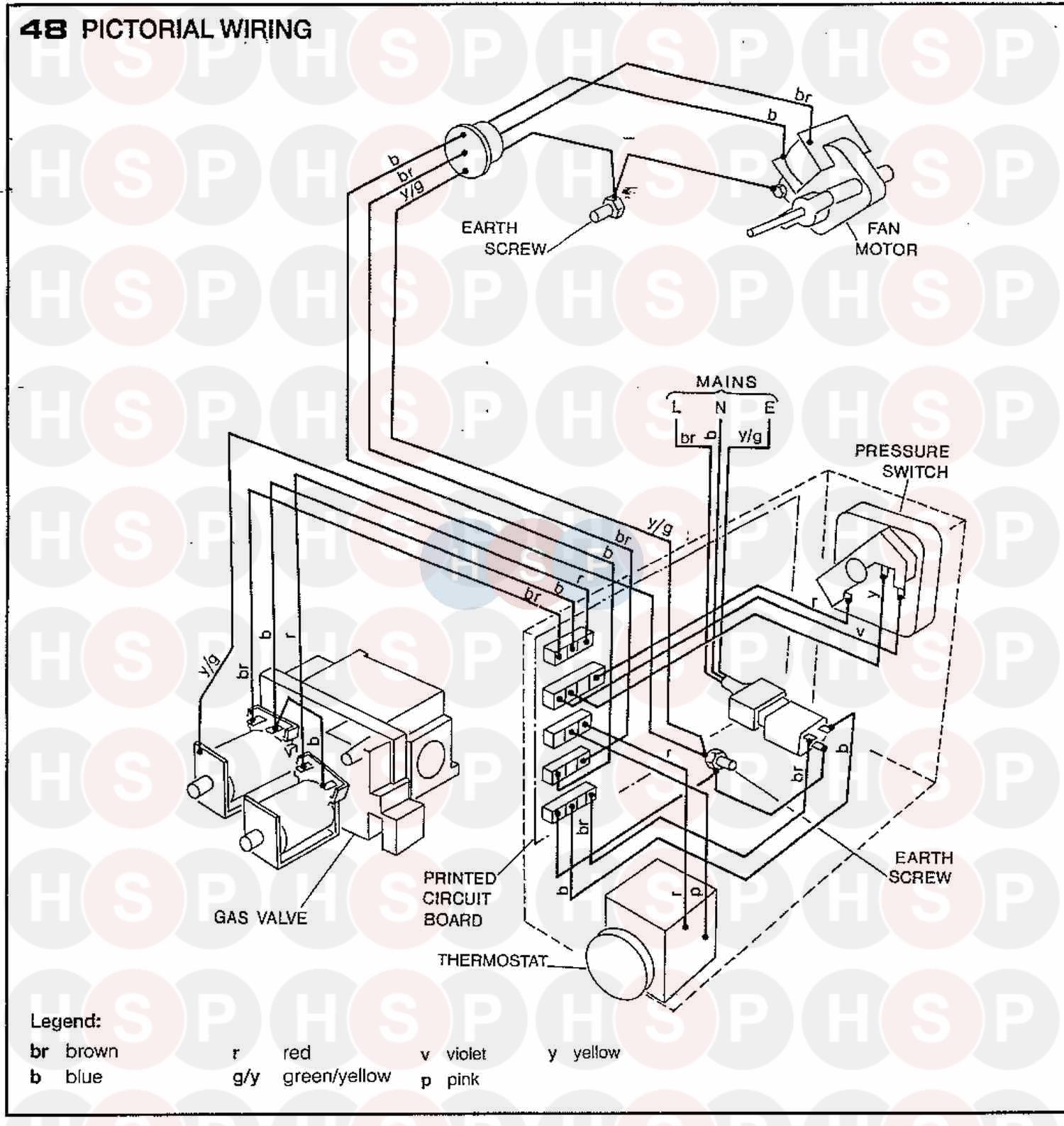 ideal w2000 50f appliance diagram  wiring diagram 2