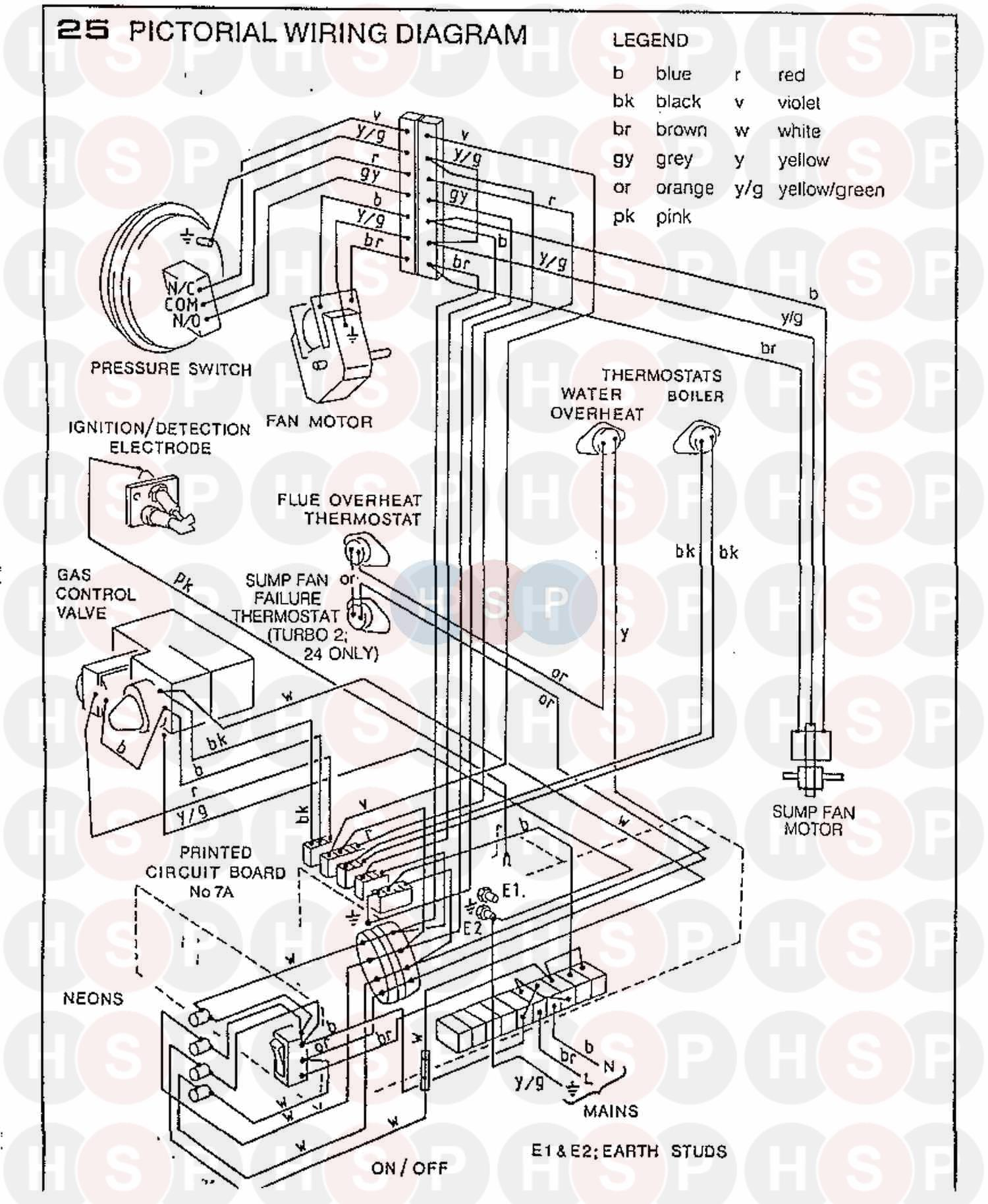 Ideal Turbo 2 15  Wiring Diagram 2 Diagram