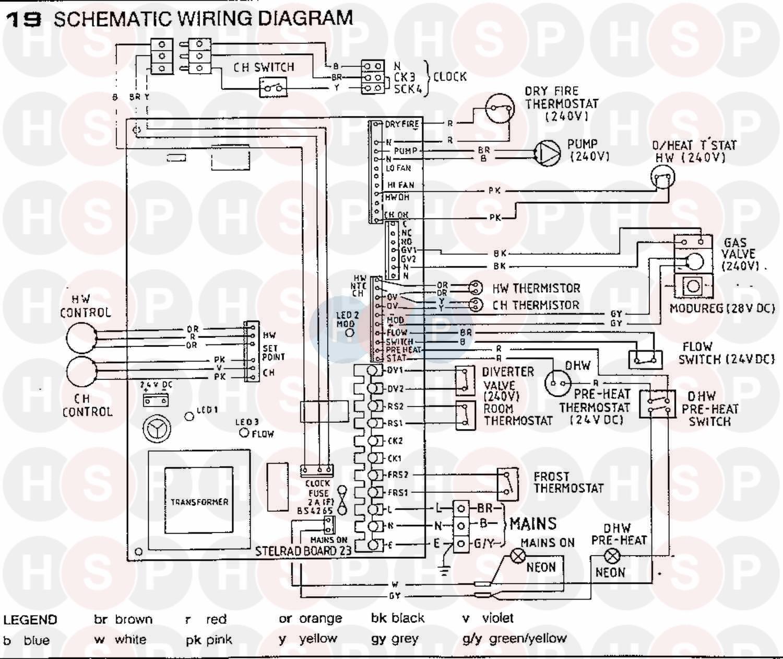 Ideal Sprint Rapide Rs 75n  Wiring Diagram 3 Diagram