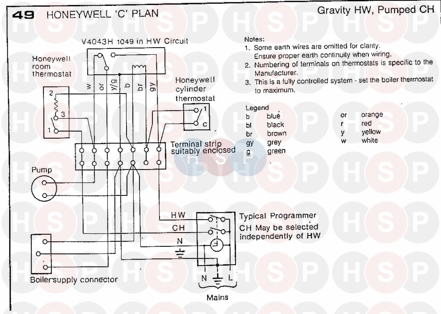 Ideal W2000 30nf Honeywell Cont 1991 Wiring Diagram 3 Ignition Control Click The To Open It On A New Page