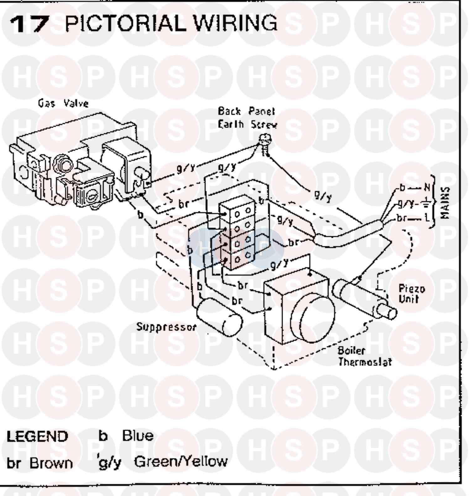 Ideal CLASSIC RS 30 Appliance Diagram (Wiring Diagram 1