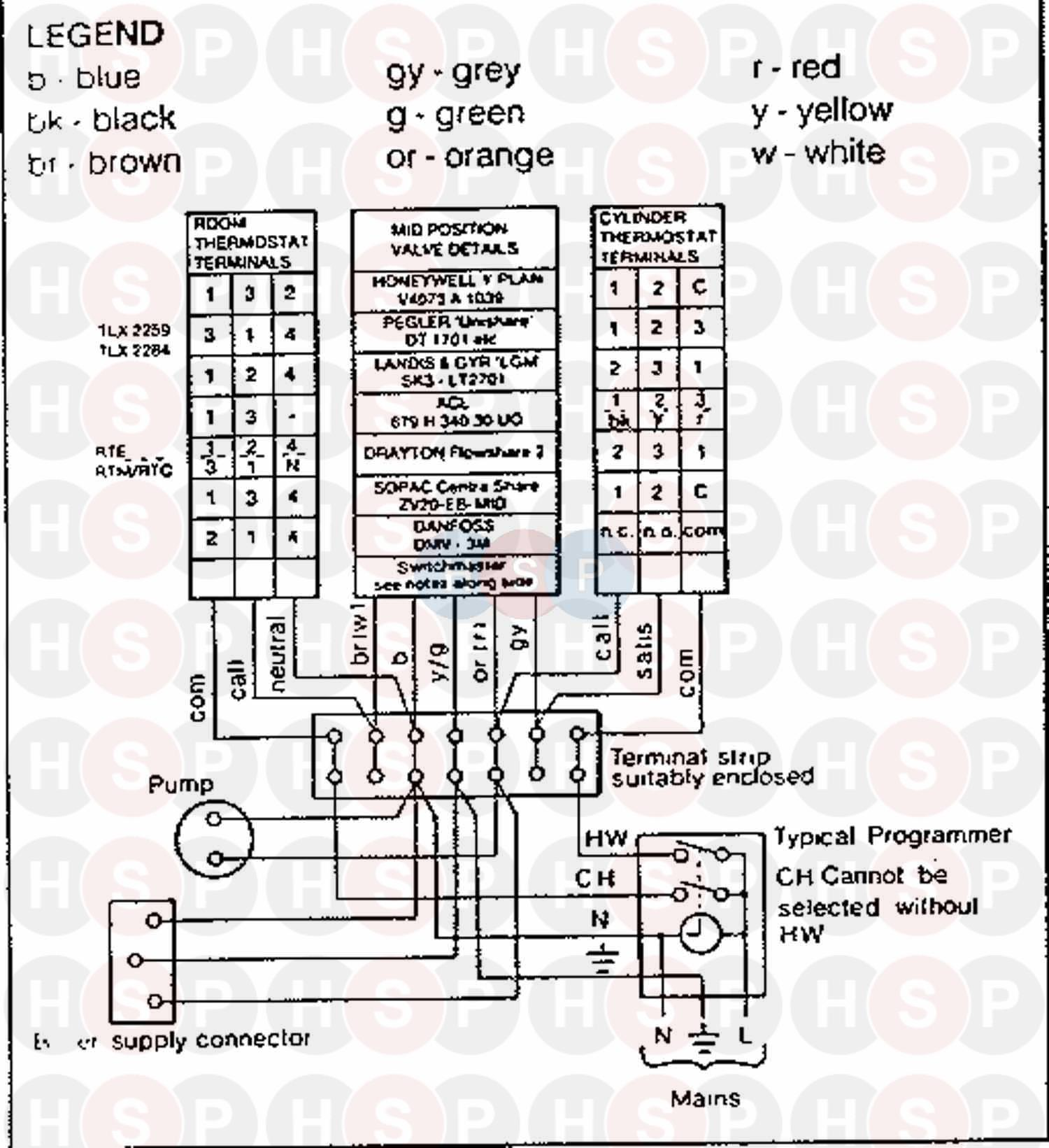ideal classic rs 40  wiring diagram 2  diagram