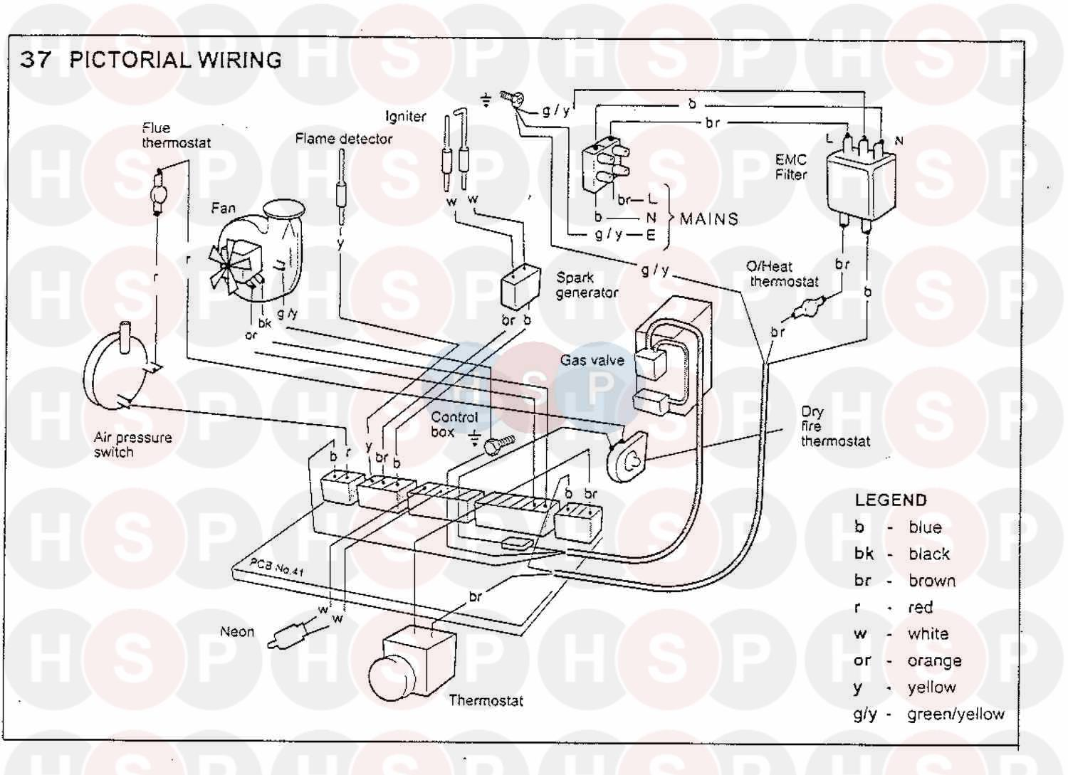 Ideal Minimiser 50ff Wiring Diagram 3 Heating Spare Parts Air Pressor Click The To Open It On A New Page