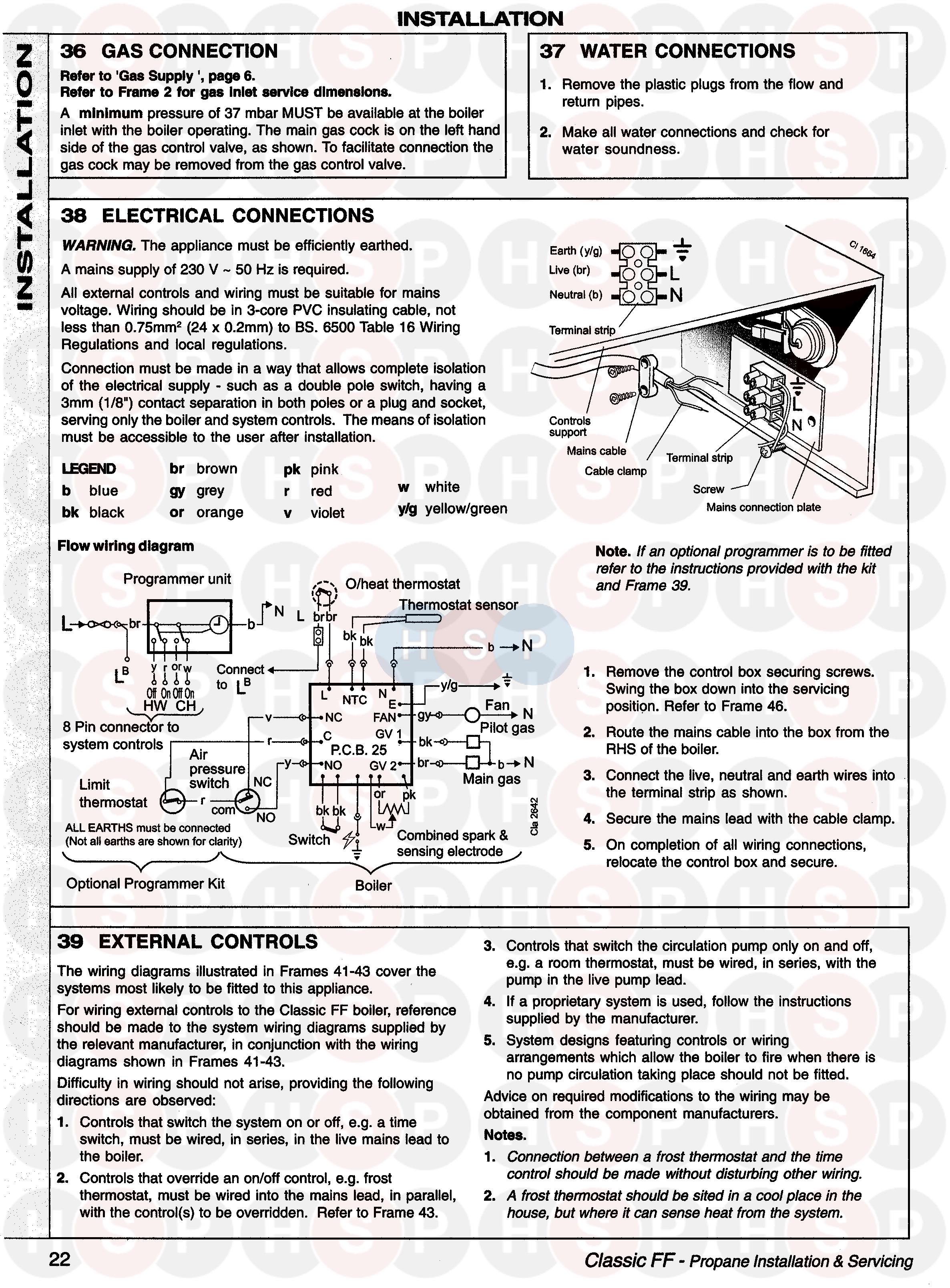 Ideal Classic Ff340 Wiring 1 Diagram Heating Spare Parts Lead Type Limit Switch Click The To Open It On A New Page