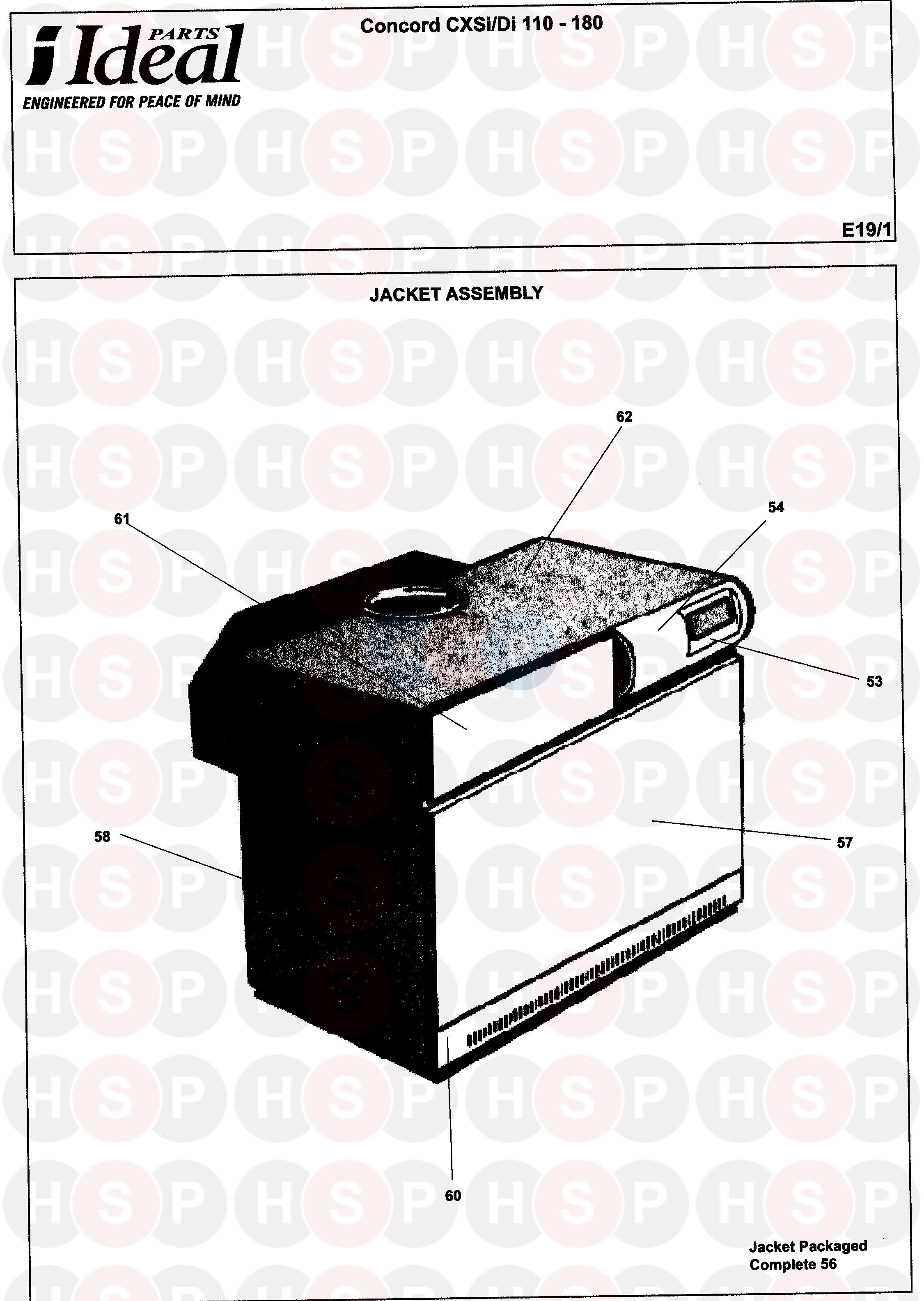ideal concord cxsi 110 180 appliance diagram appliance. Black Bedroom Furniture Sets. Home Design Ideas