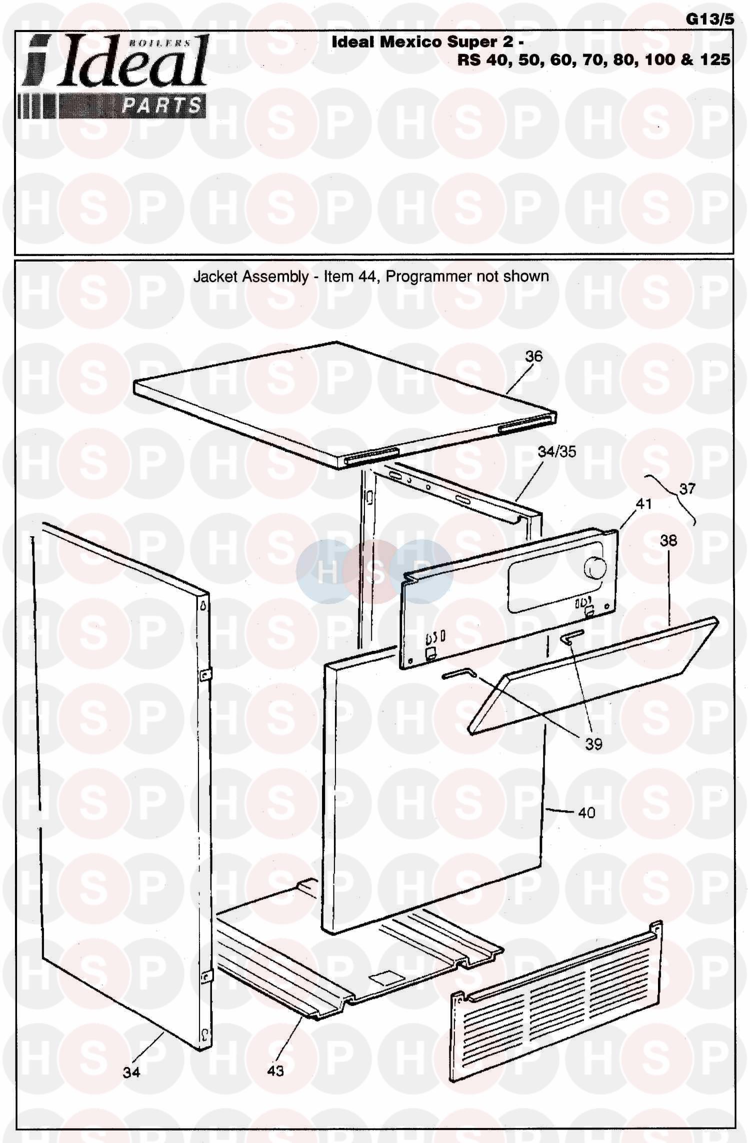 ideal mexico super 2 rs 60 appliance diagram  boiler