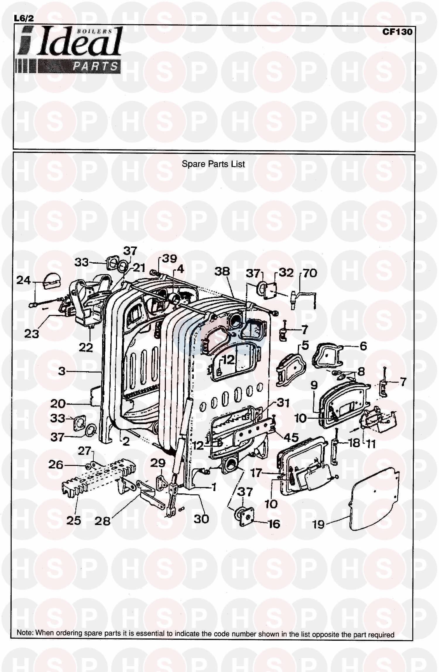boiler spare parts diagrams & exploded diagram for coalbrookdale  : boiler parts diagram - findchart.co