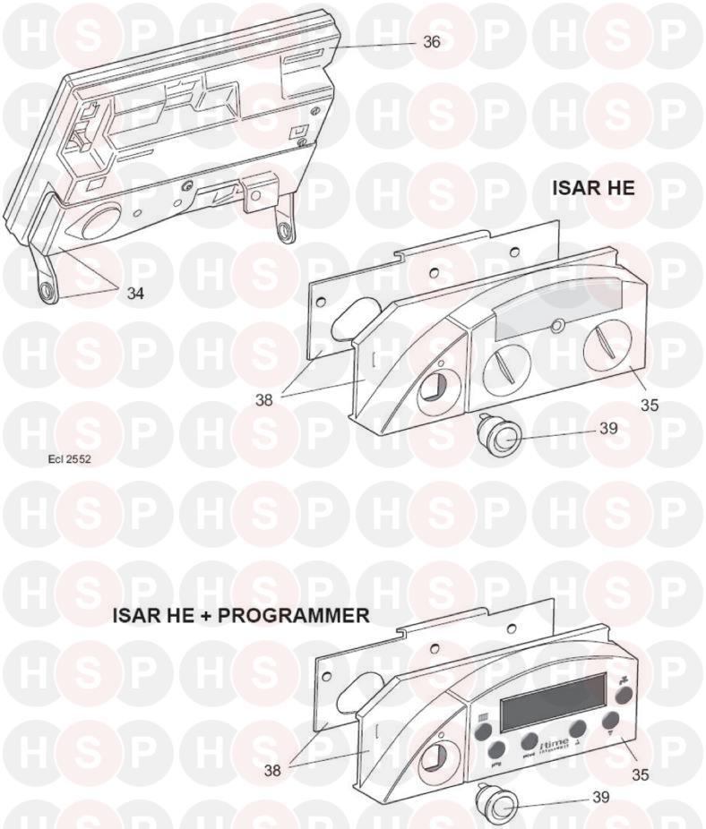 Ideal Isar He30  Controls Diagram