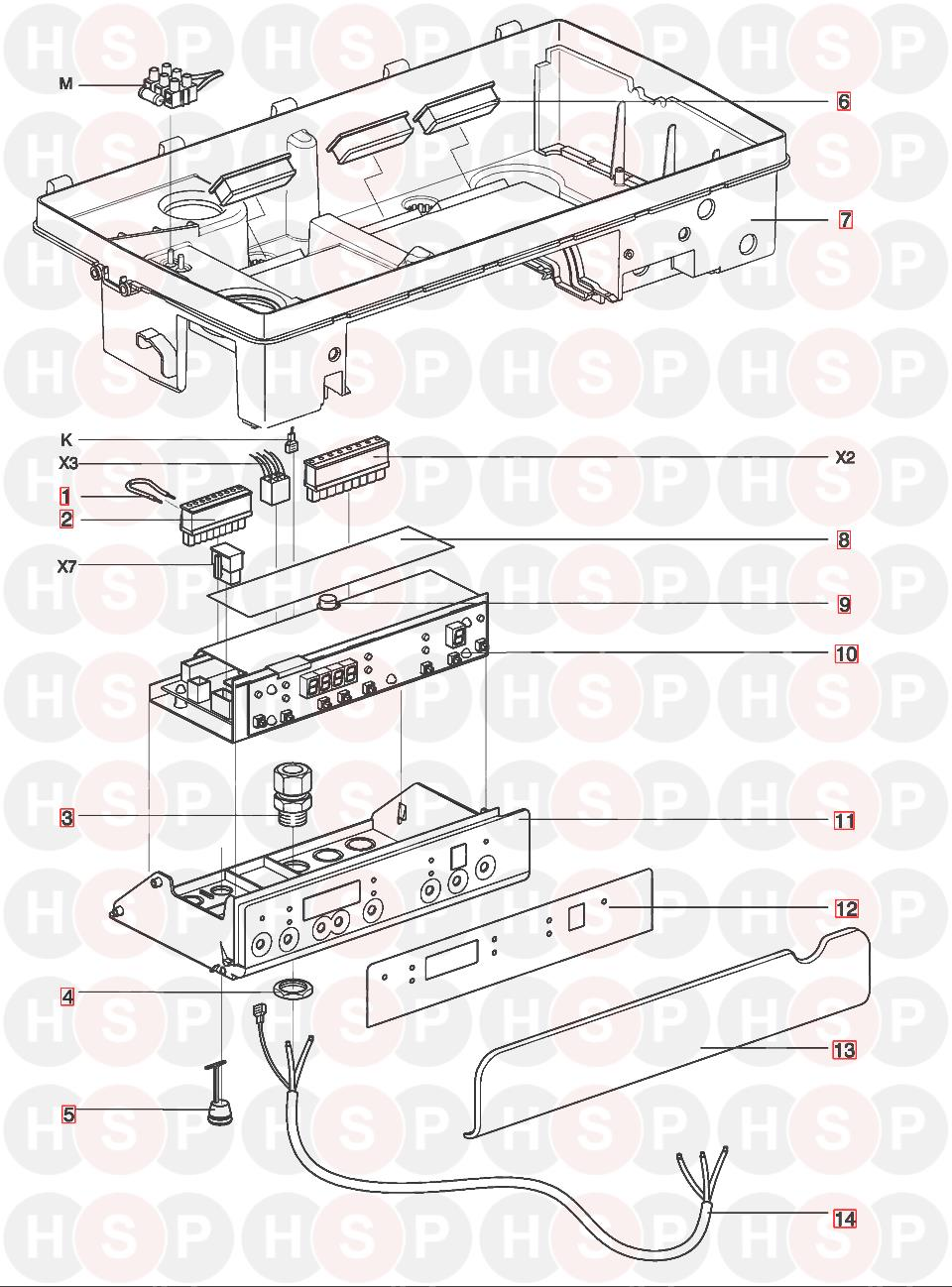 Intergas 28  24 Hre  Boiler Controls Diagram