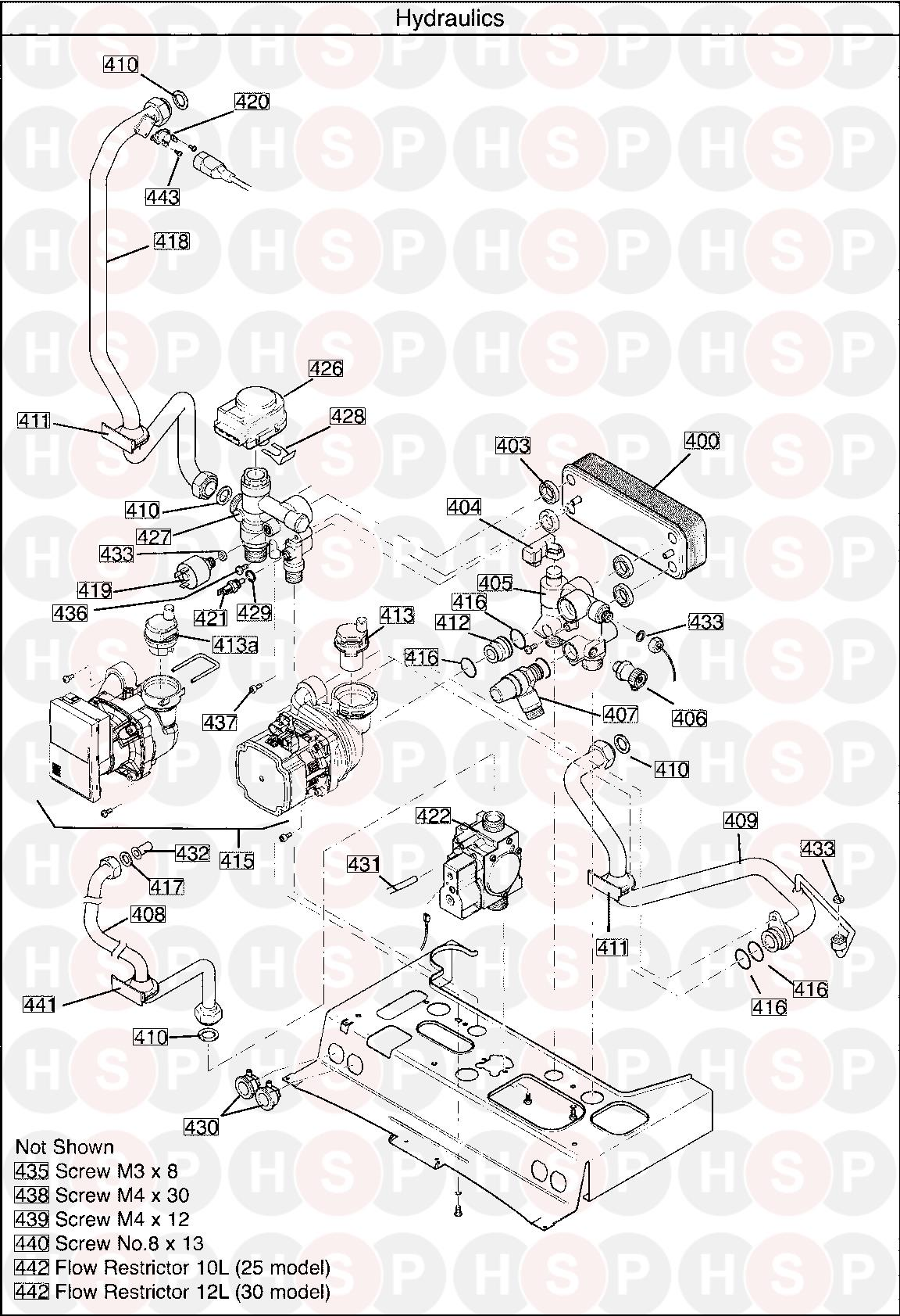 Main 30 Combi Erp  Serial No Ending Ac   Hydraulics Diagram