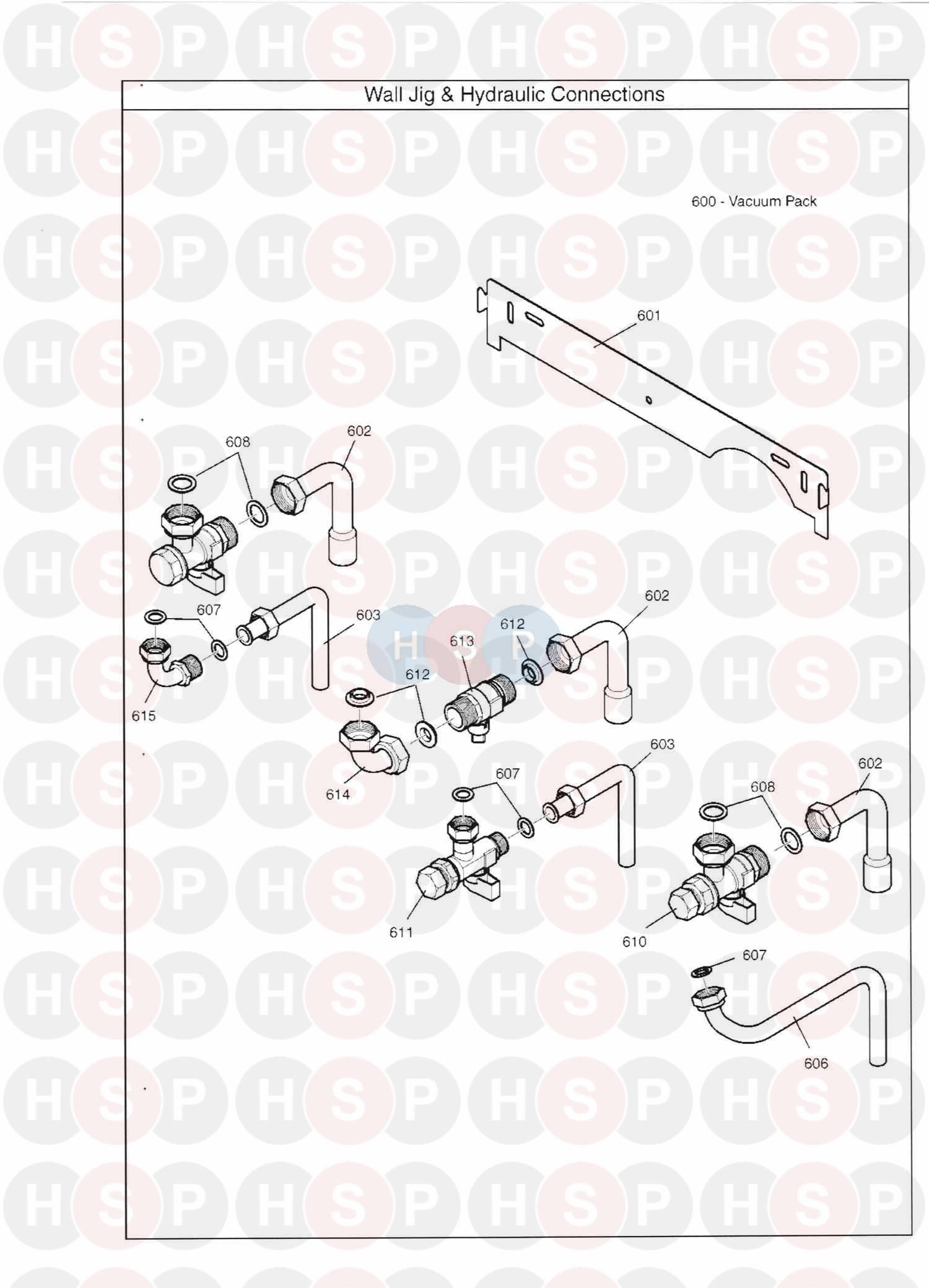 main combi 30he appliance diagram  wall jig  u0026 hydraulic