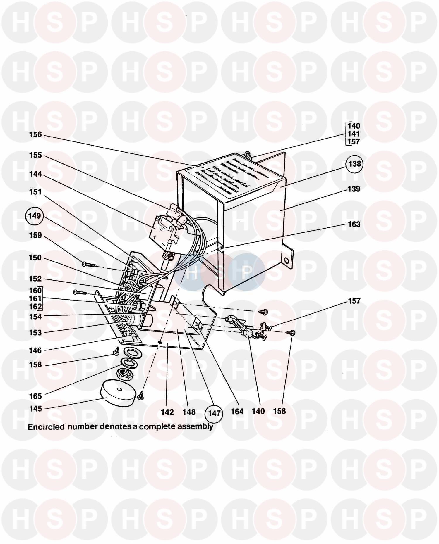 Myson MARATHON (LATER) 700C 1997 (Uncased Boiler Control