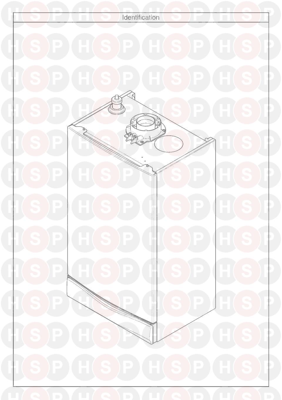 Potterton APOLLO 25 (APPLIANCE IDENTIFICATION)Diagram