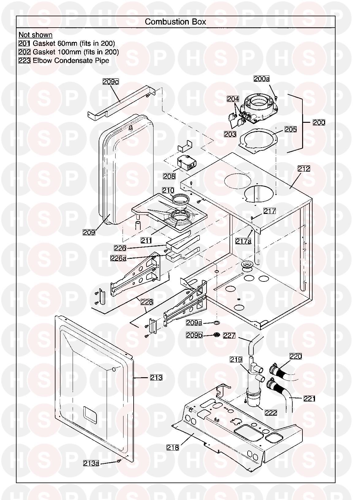 Potterton Titanium 40 combi Erp serial no. ending in BC
