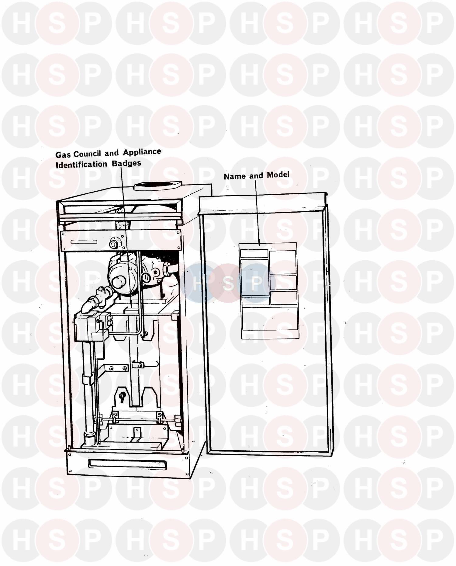 Potterton C80/23 BE SB CAT 1N(FURIGAS BNR) (APPLIANCE