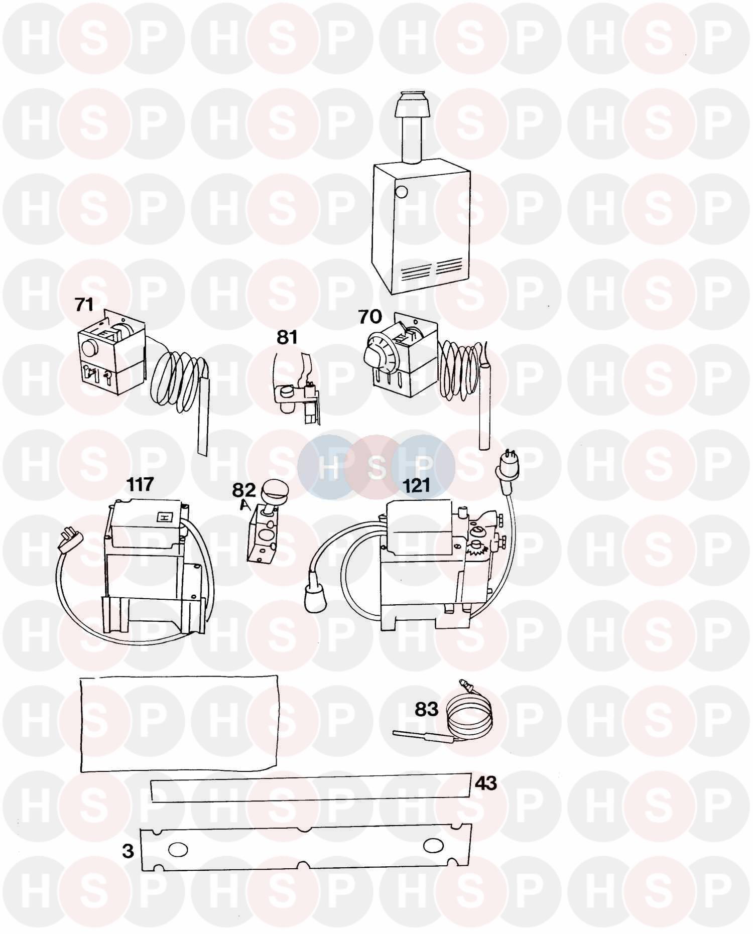Potterton DIPLOMAT 135 BI GAS (DDT DFA) Q327 (FIRST LINE