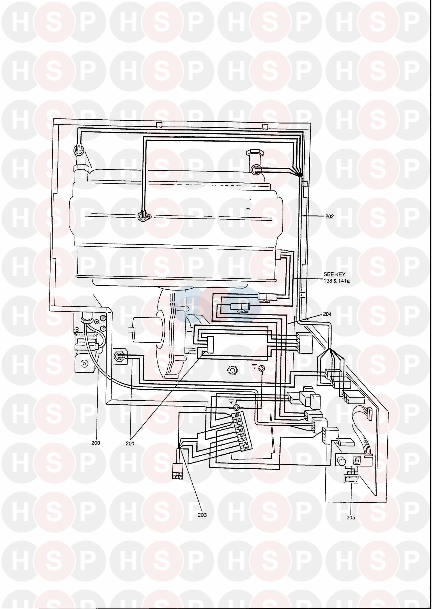 potterton envoy 80  control wiring  diagram