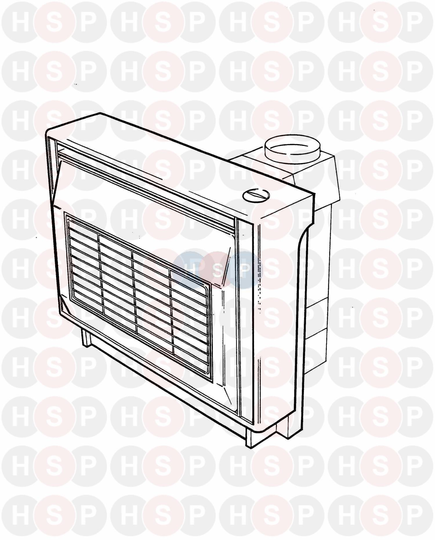 Potterton HOUSEWARMER (LATER) 55 ELECTRONIC & EPIC 2 976