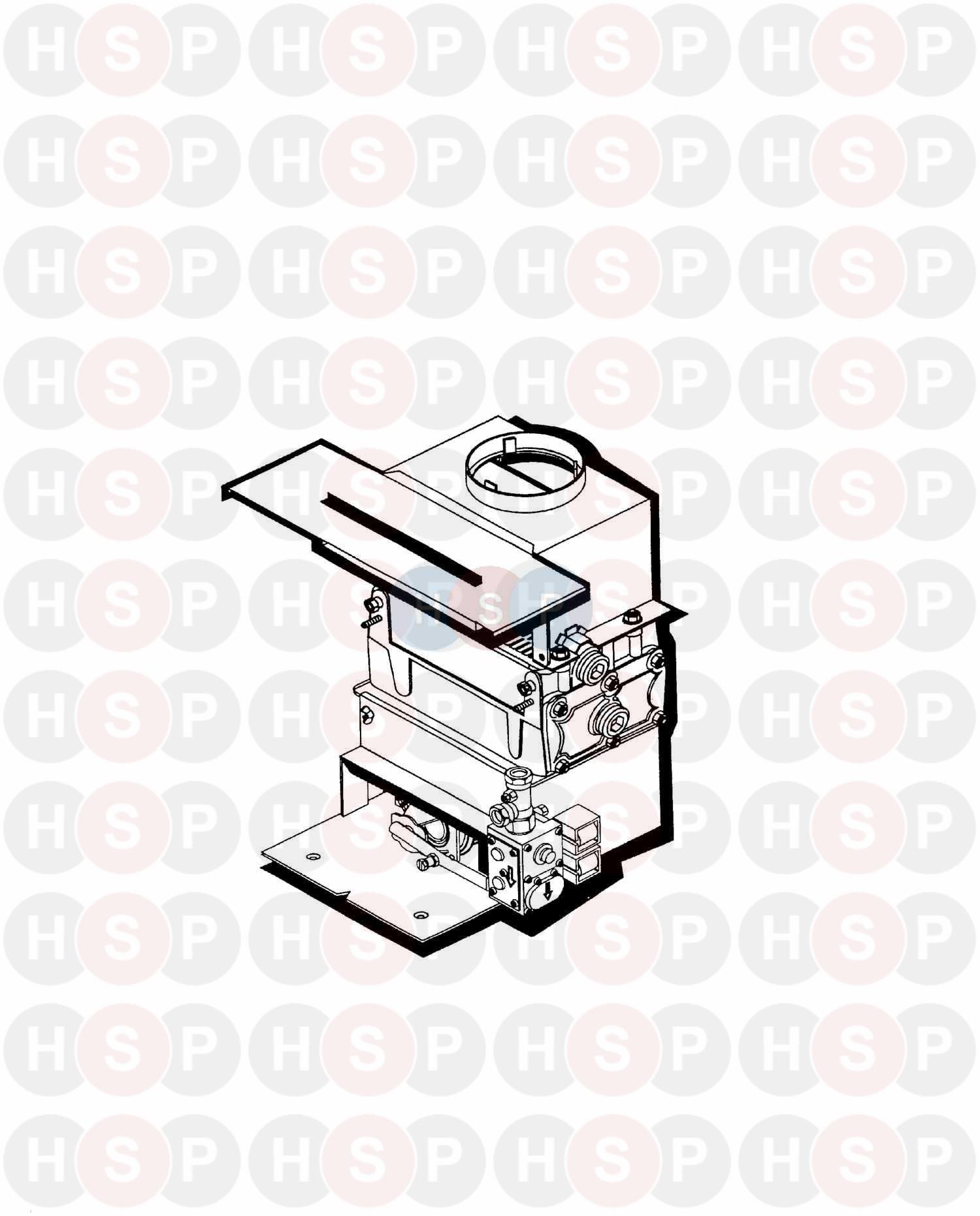 Potterton HOUSEWARMER 45 (APPLIANCE OVERVIEW) Diagram