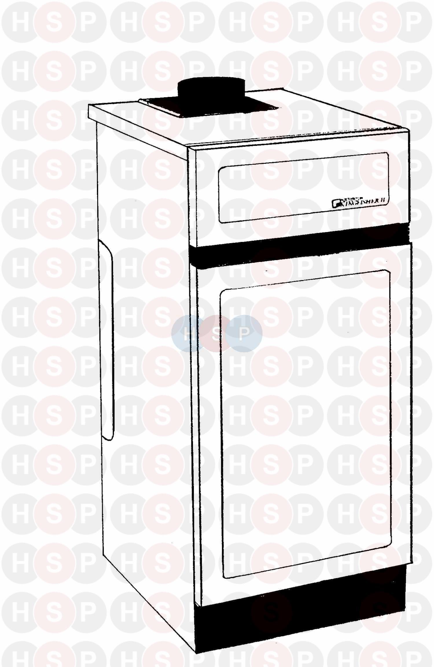 Potterton KINGFISHER MK II CF60 (IDENTIFICATION) Diagram