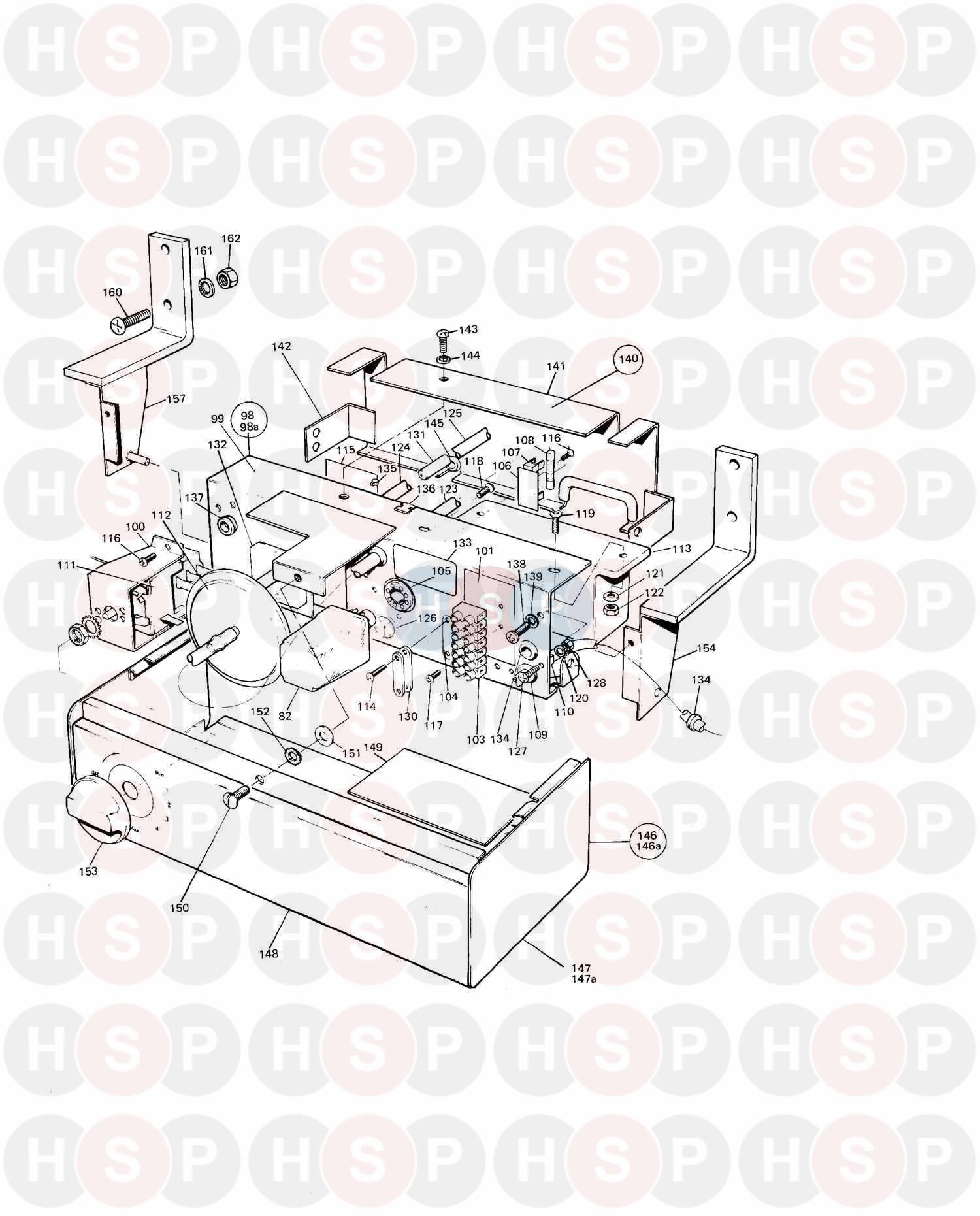 Potterton NETAHEAT MK 2 16/22 (ASSEMBLY 1) Diagram