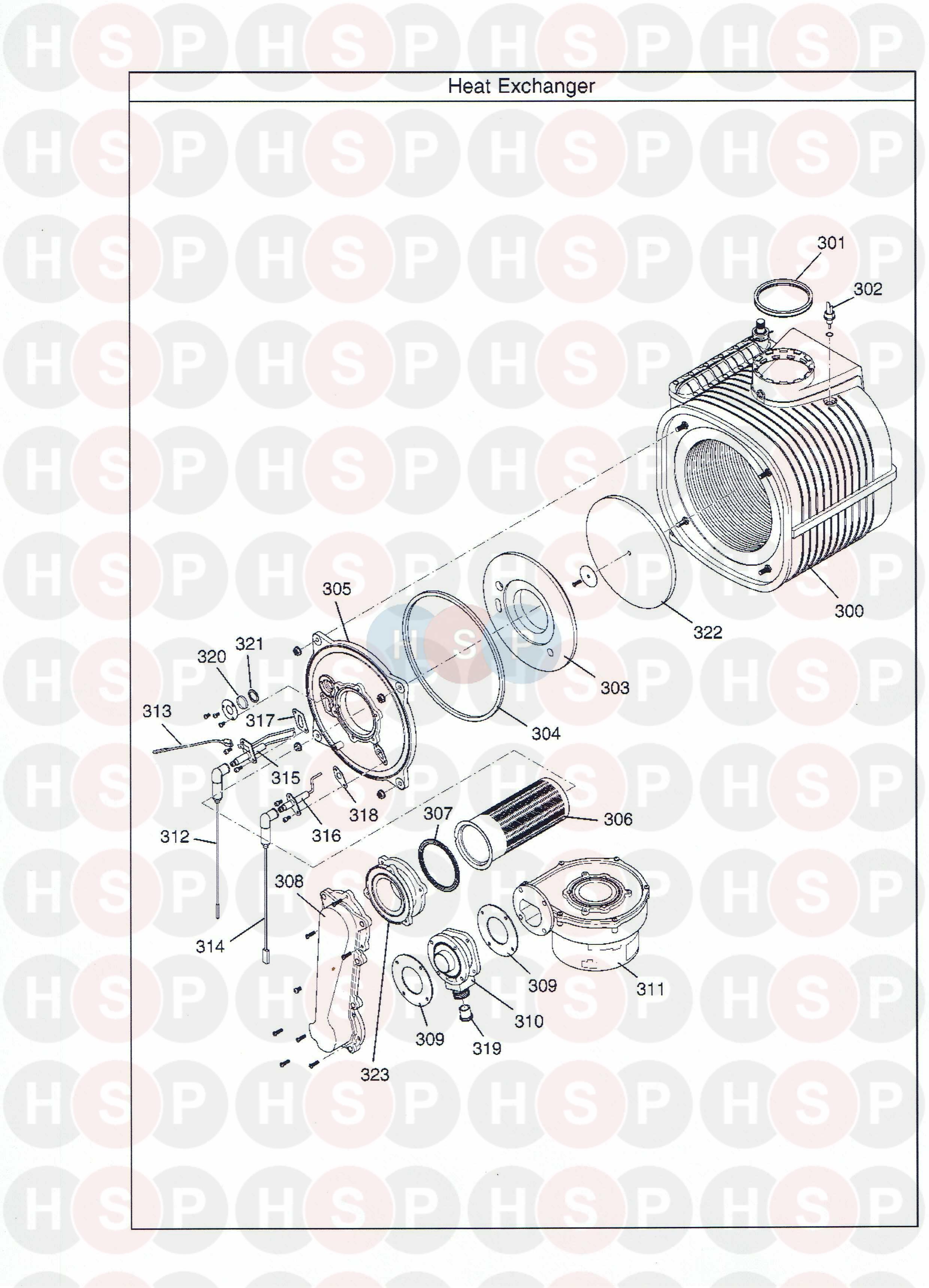 potterton promax combi 33 he plus a appliance diagram