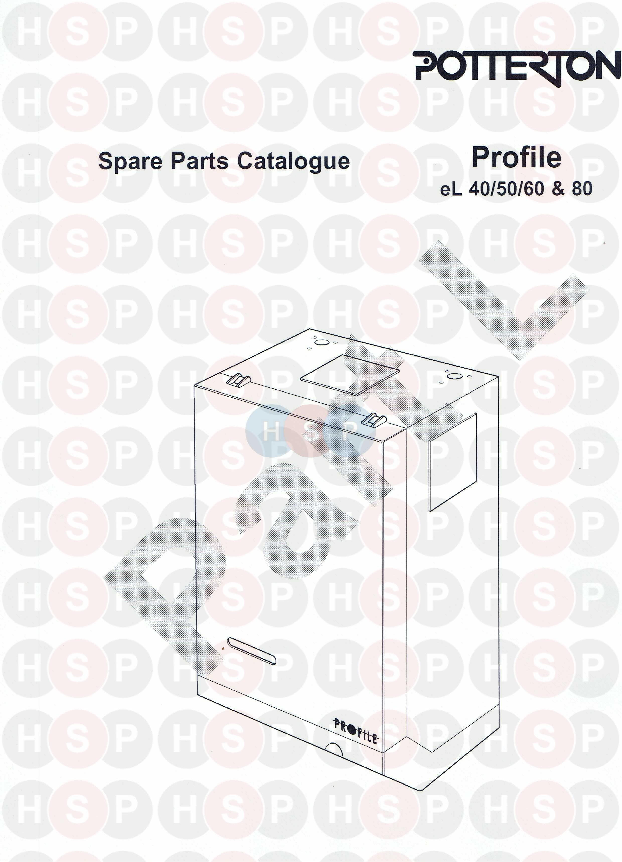IDENTIFICATION diagram for Potterton PROFILE 60EL Click the diagram to open  it on a new page