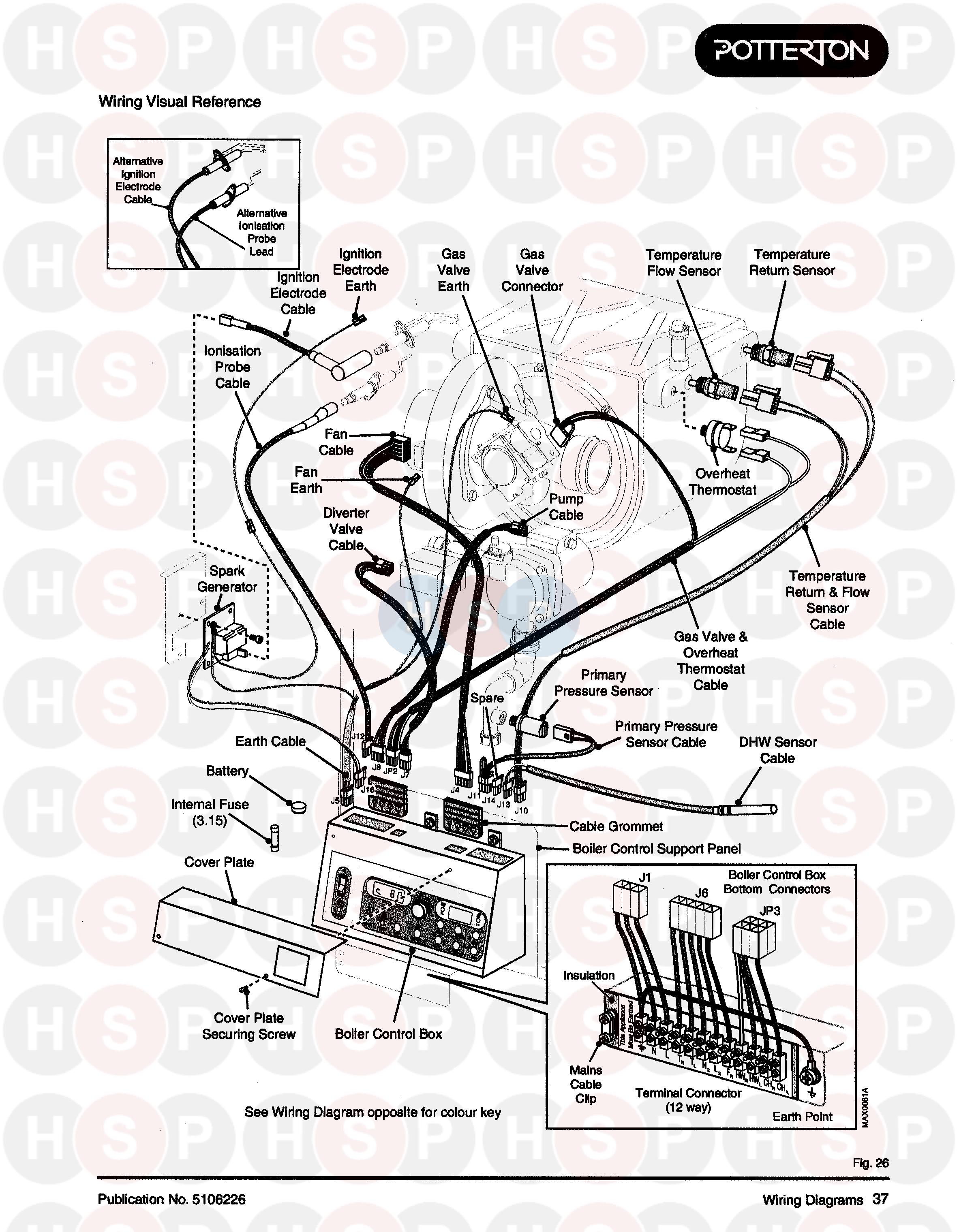 potterton powermax 85 he appliance diagram  wiring diagram
