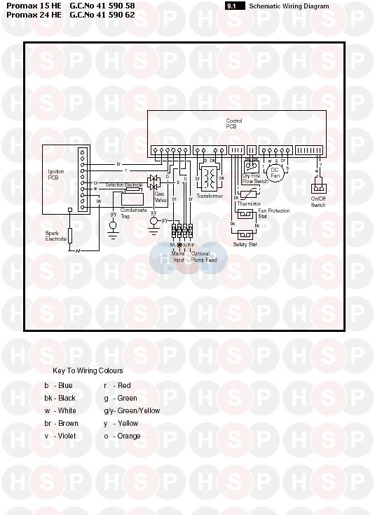 Potterton promax 24 he electrical diagram heating spare parts click the diagram to open it on a new page asfbconference2016 Images