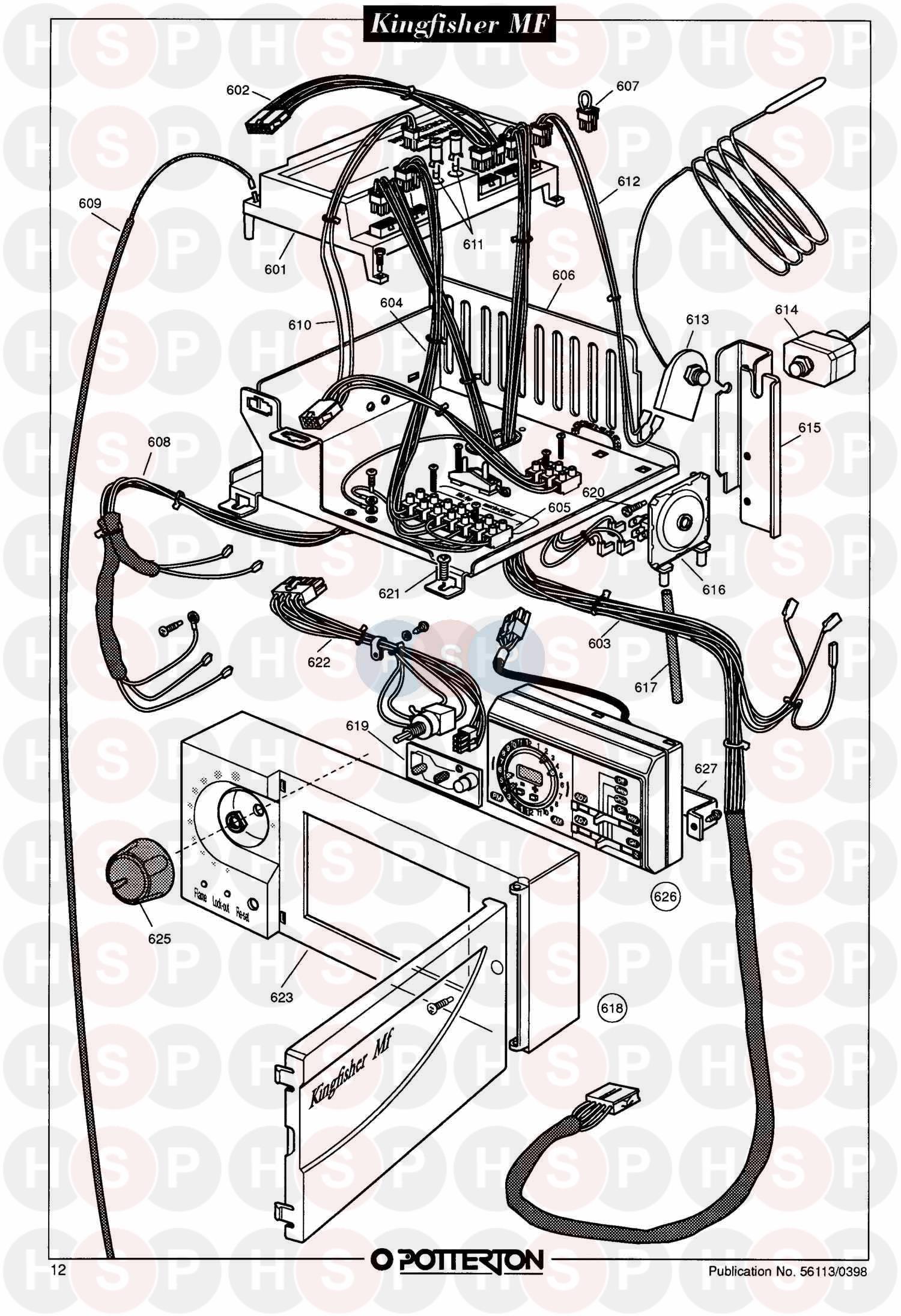 Potterton kingfisher 2 rs40 manualidades