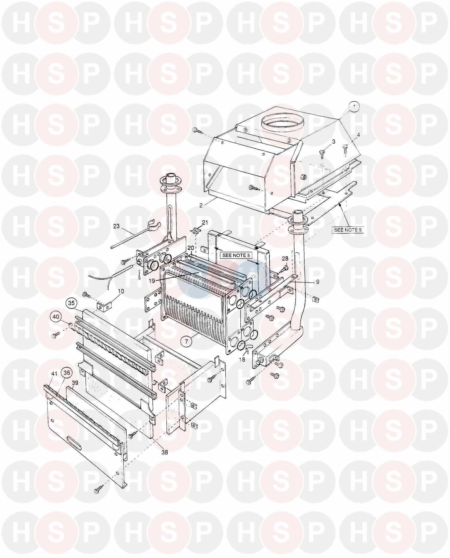 potterton prima b 30  assembly 3  diagram
