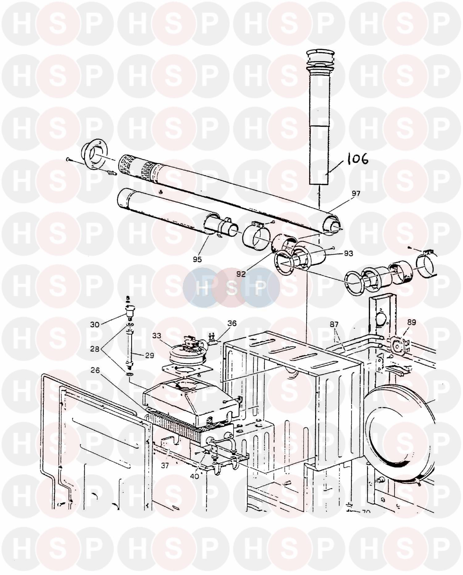 ravenheat rsf 820  20t  assembly 4  diagram