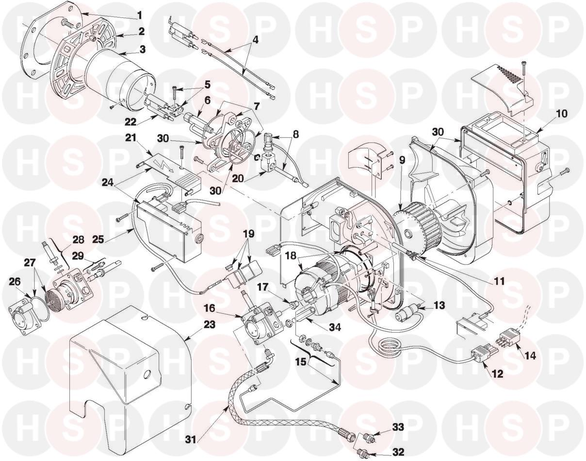 Riello Rdb22r Firebird 90d 744t3r Burner Rdb 22r Sime Boiler Wiring Diagram Click The To Open It On A New Page