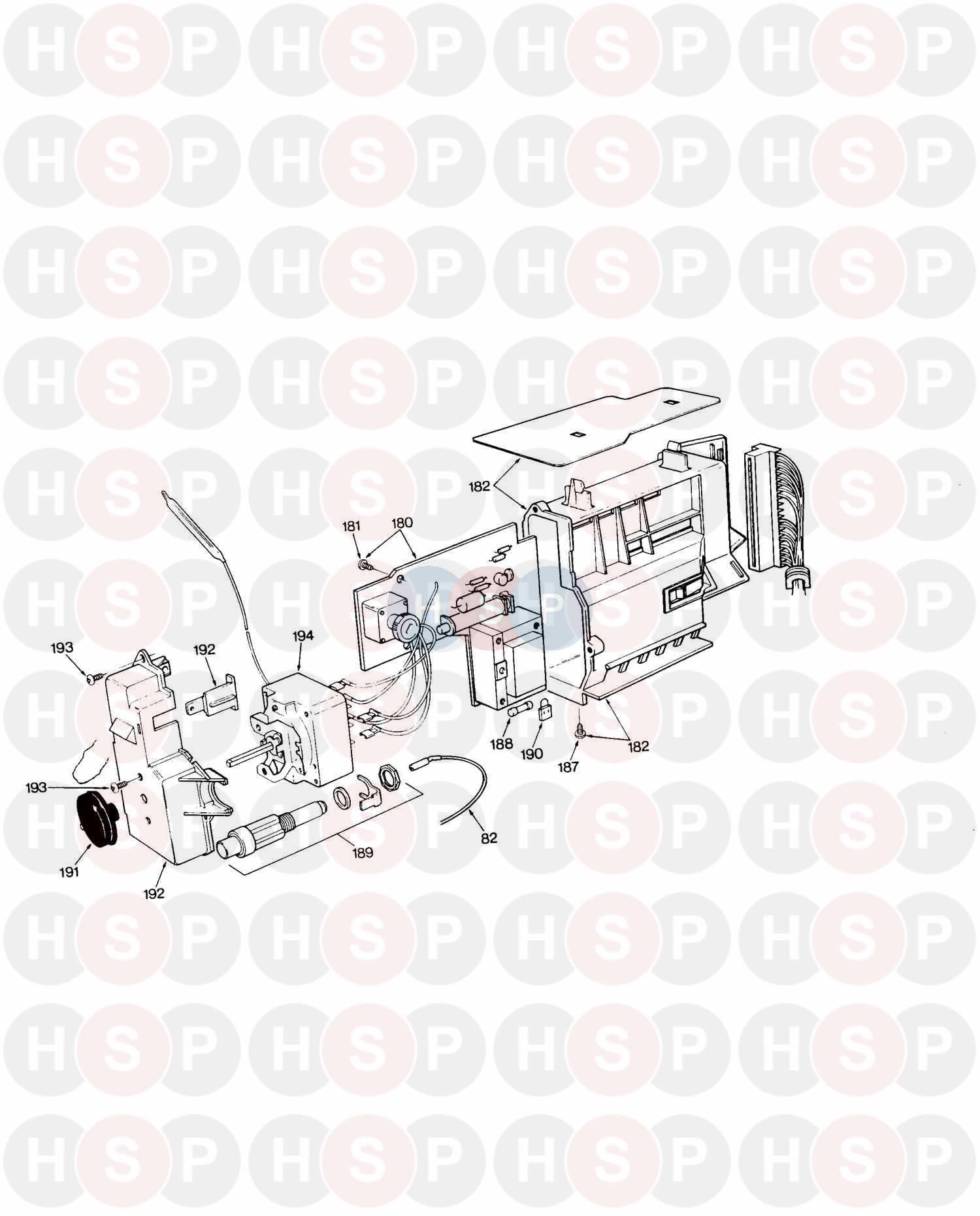 saunier duval themis 223  control box  diagram