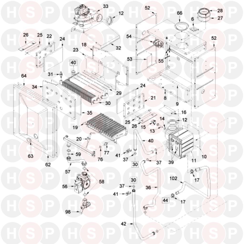 Sime ecomfort plus 25 he ev boiler assembly diagram heating boiler assembly diagram for sime ecomfort plus 25 he ev swarovskicordoba Gallery