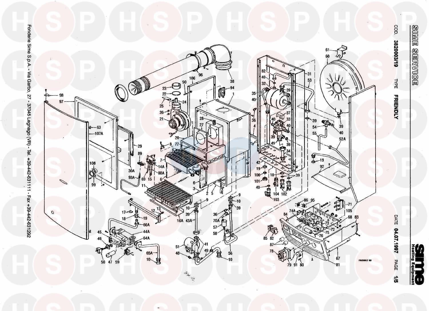 Sime super 80 exploded view diagram heating spare parts click the diagram to open it on a new page swarovskicordoba Choice Image