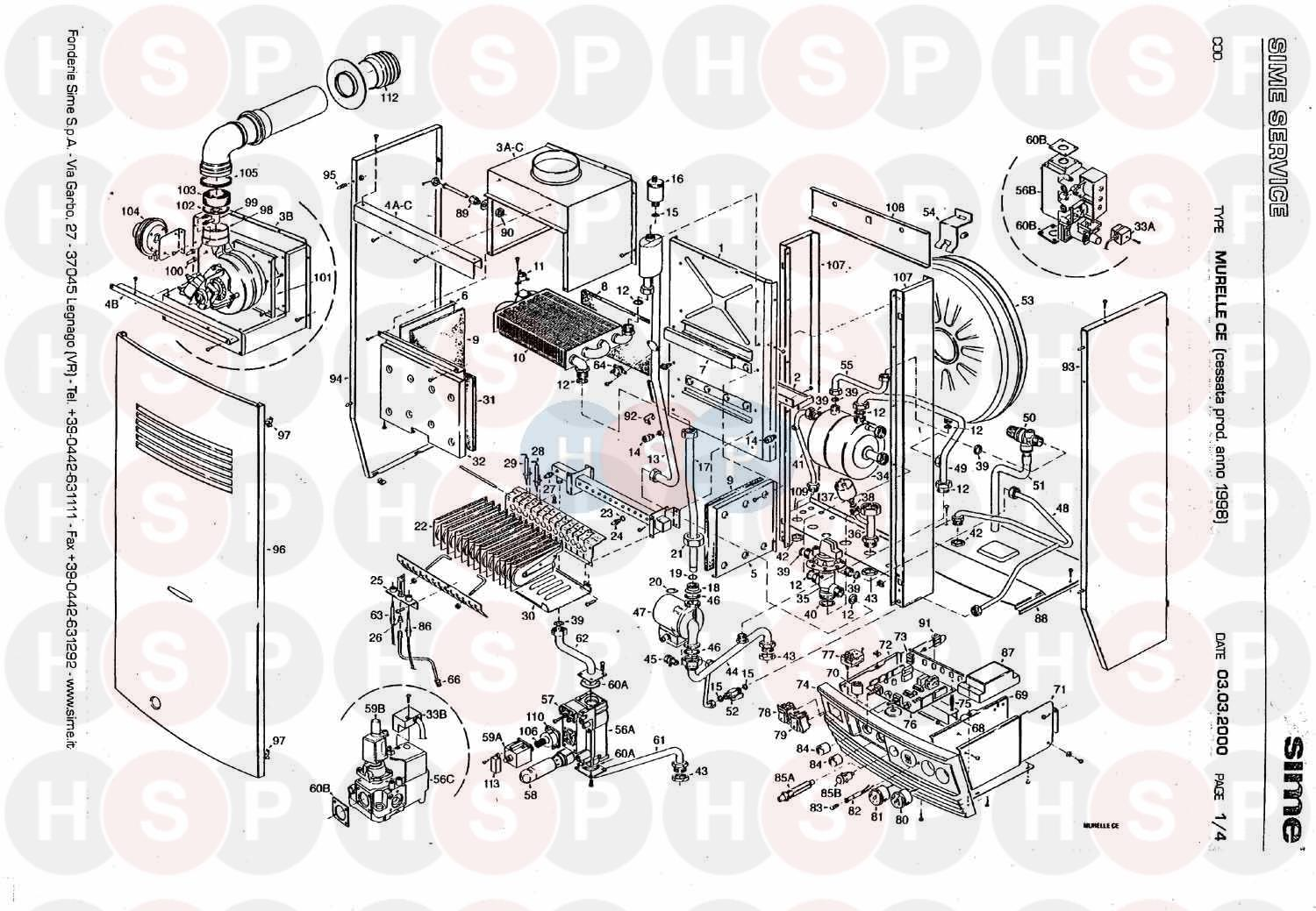Sime murelle ce 20 exploded view diagram heating spare parts click the diagram to open it on a new page swarovskicordoba Choice Image