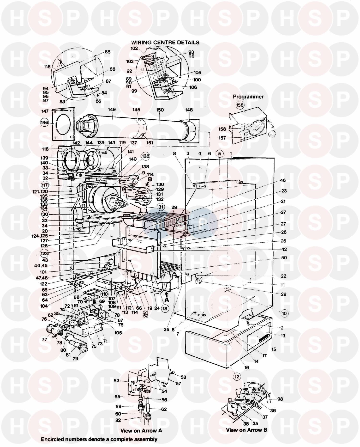Thorn APOLLO (LATER) 40 S 1997 (Assembly) Diagram