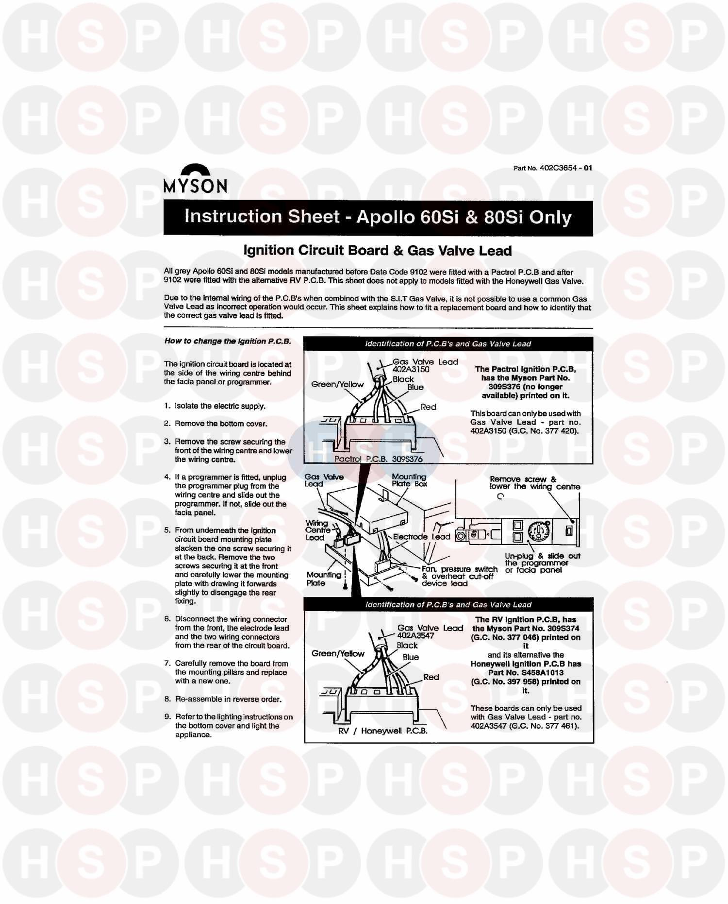 Thorn Apollo Later 80 Si 1997 Instruction Sheet Diagram Rv Slide Out Wiring Click The To Open It On A New Page