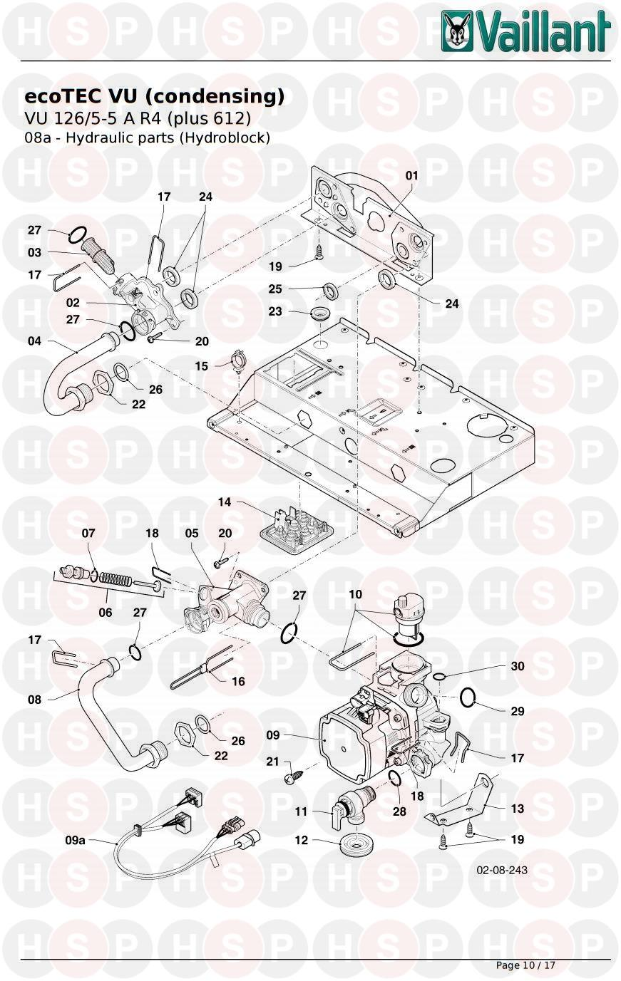 Vaillant ecotec plus 624 wiring diagram the best wiring diagram 2017 vaillant ecotec plus 612 vu 126 5 a r4 2017 onwards 8a hydraulics cheapraybanclubmaster Gallery