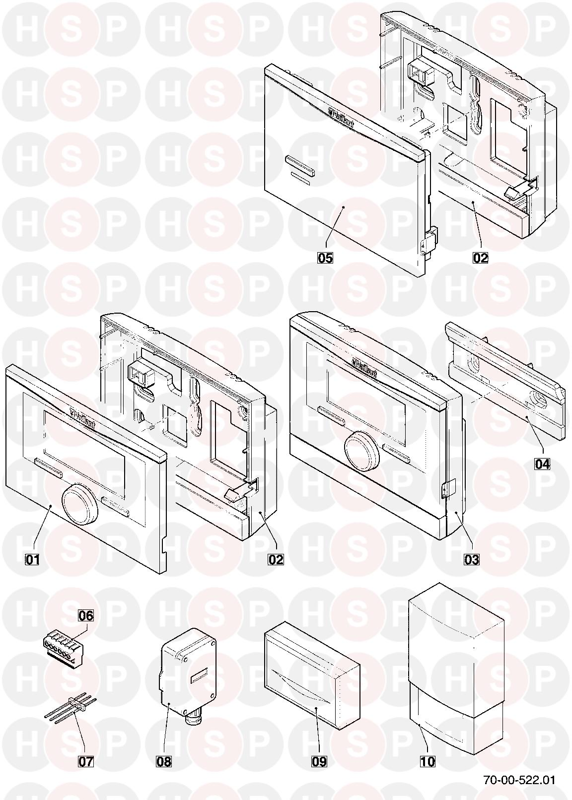 Vaillant Vrc 470 2011 2015 Diagram Heating System Boiler Wiring Click The To Open It On A New Page