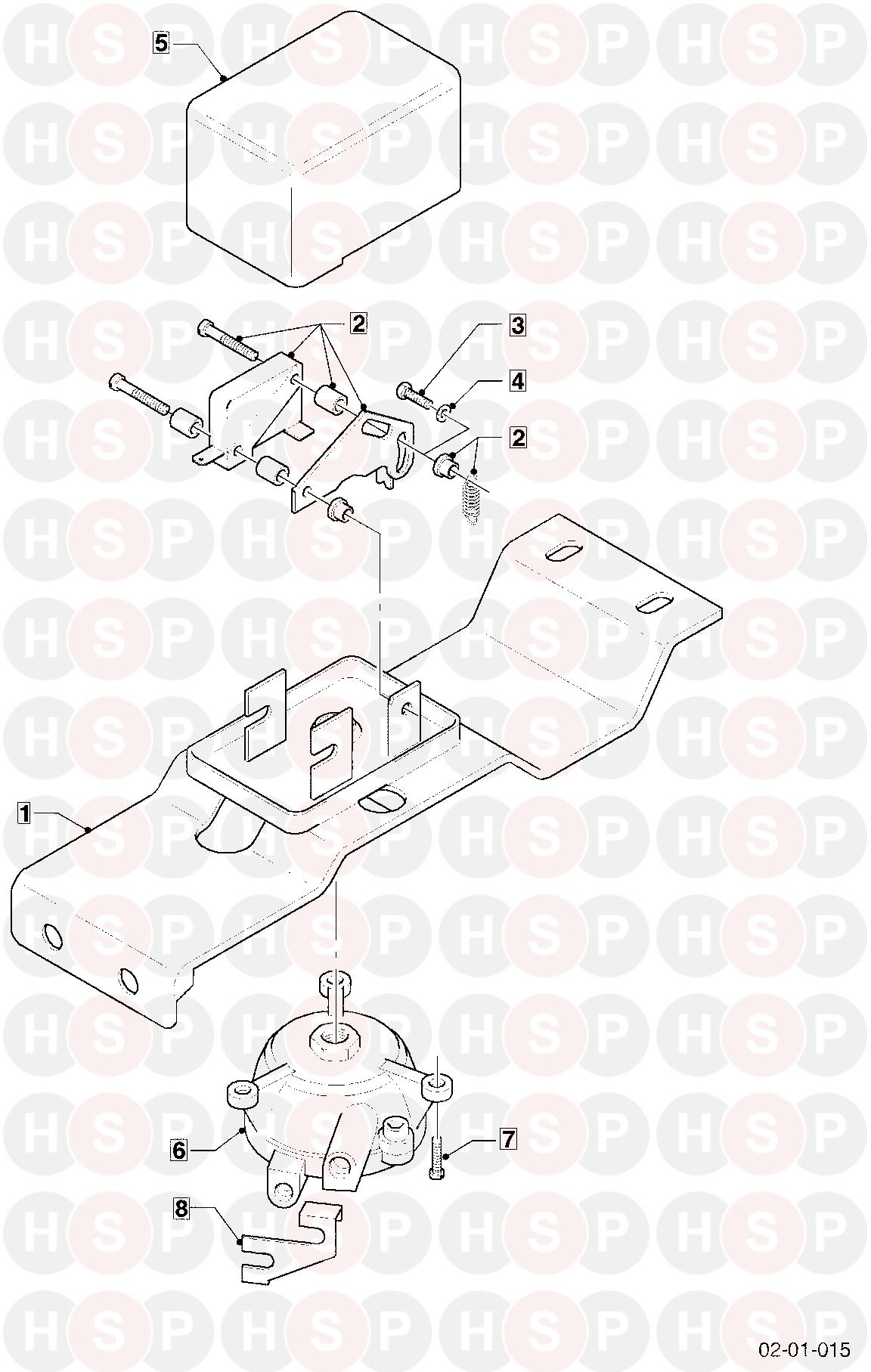 Vaillant THERMOCOMPACT VC 240XT 1995-1996 (01 FLOW SWITCH
