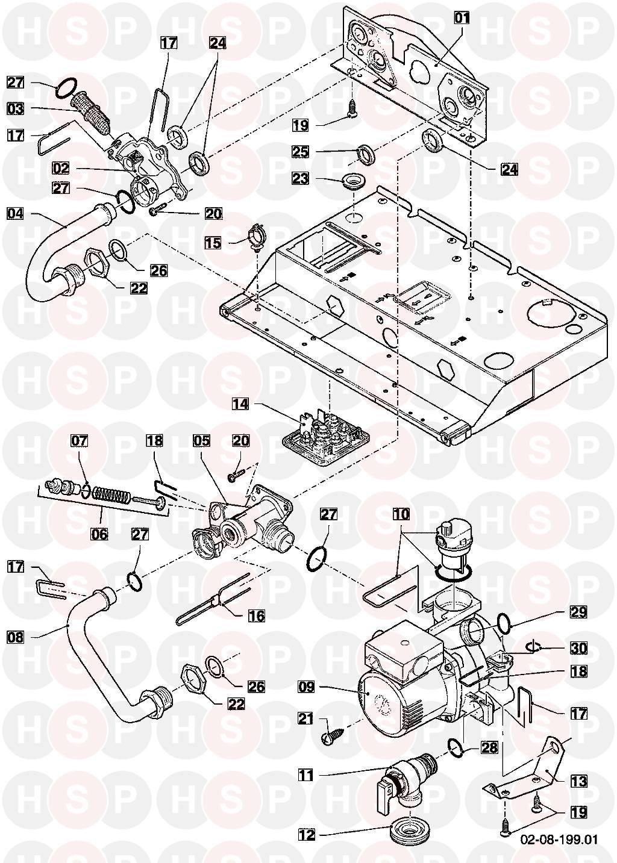 Vaillant ECOTEC PLUS 630 VU 306/5-5 R1 2012-2013 Appliance