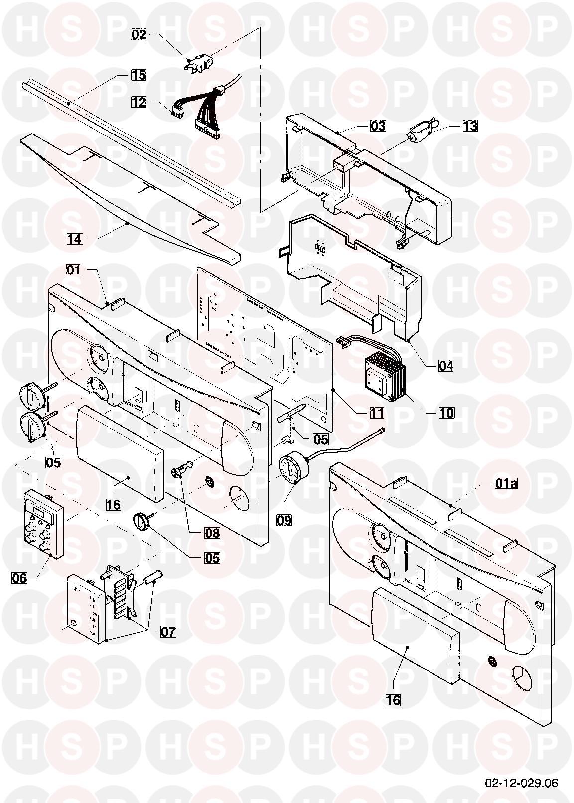 Vaillant TURBOMAX PLUS 824E VUW 242/2-5 2001-2002 (12