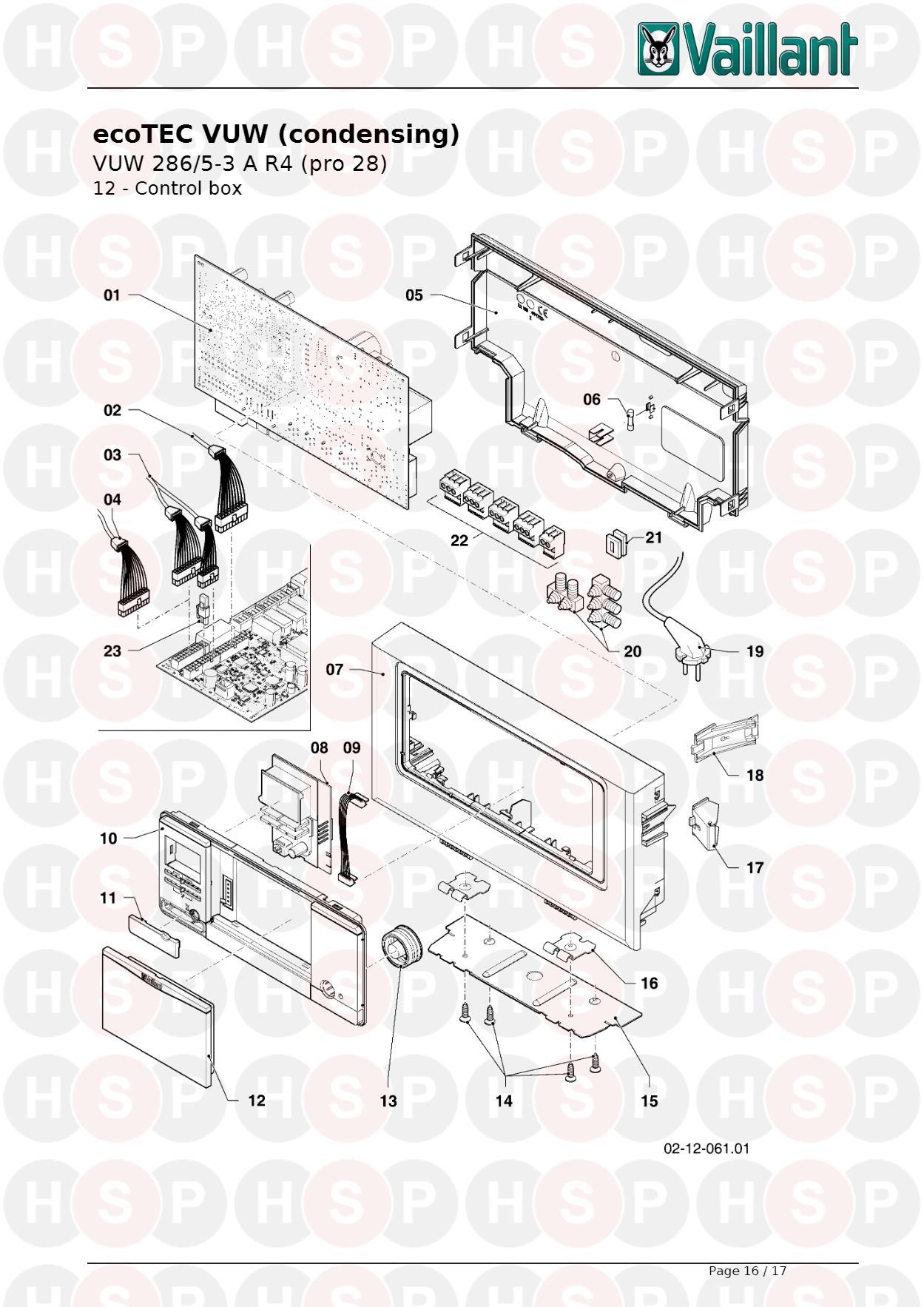 Vaillant ECOTEC PRO 28 VUW 286/5-3 R4 (current production