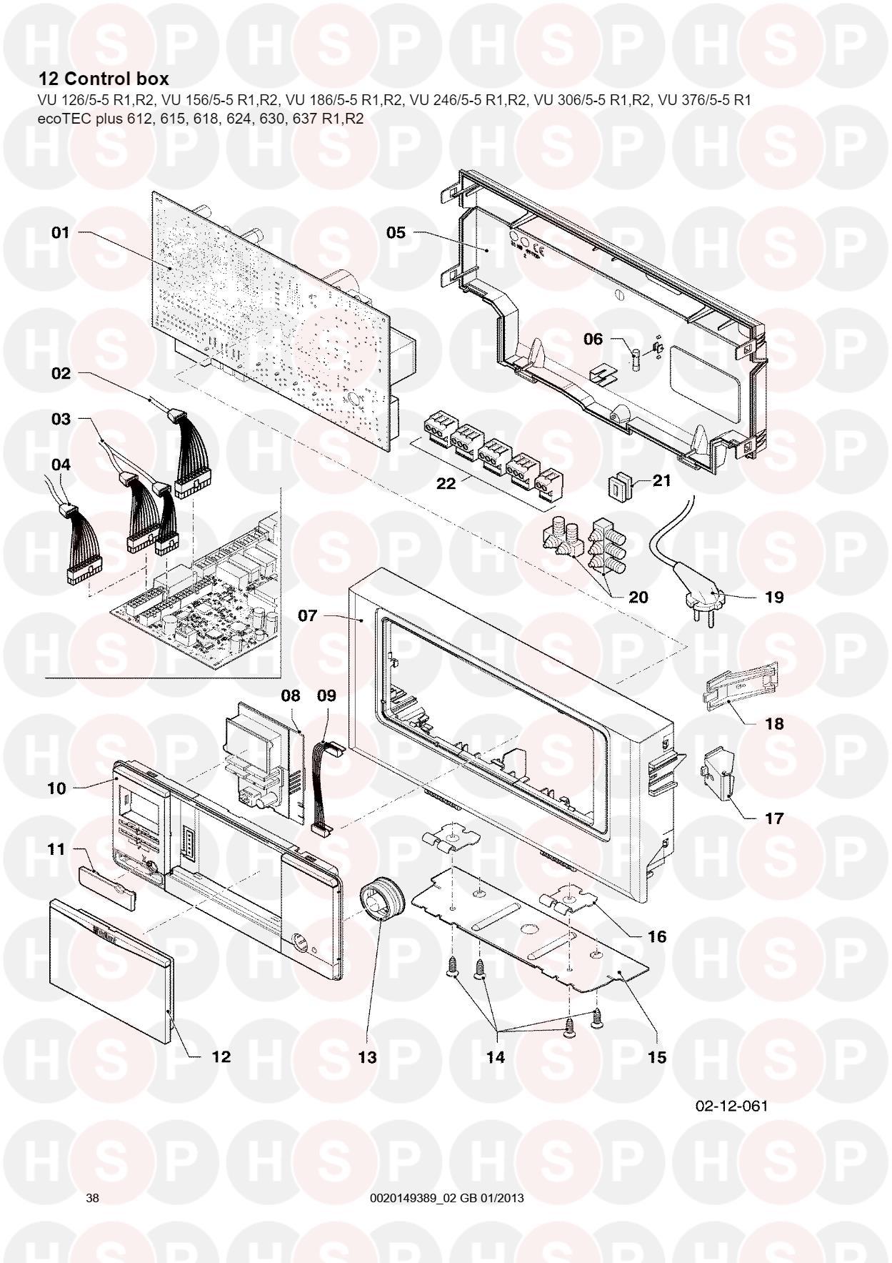 Vaillant ecotec plus 612 615 618 624 630 637 12 control box 12 control box sheet 2 diagram for vaillant ecotec plus 612 615 618 asfbconference2016 Image collections